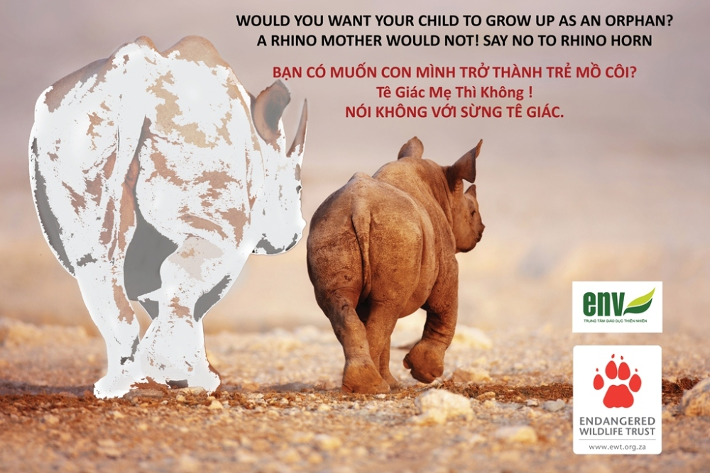 South Africa and Vietnam Working Together To Campaign For Rhino Protection (2/2)