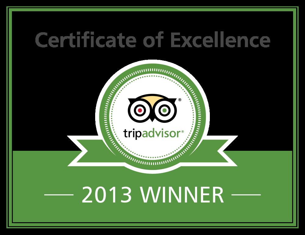 Inyati Game Lodge Earns 2013 Tripadvisor Certificate Of Excellence
