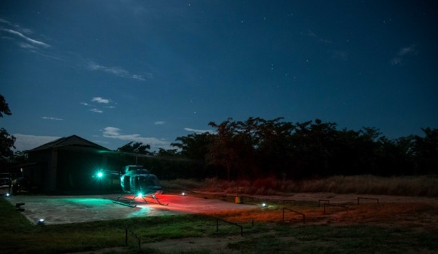 Inyati supporter of SSW Rhino Protection Helicopter Programme